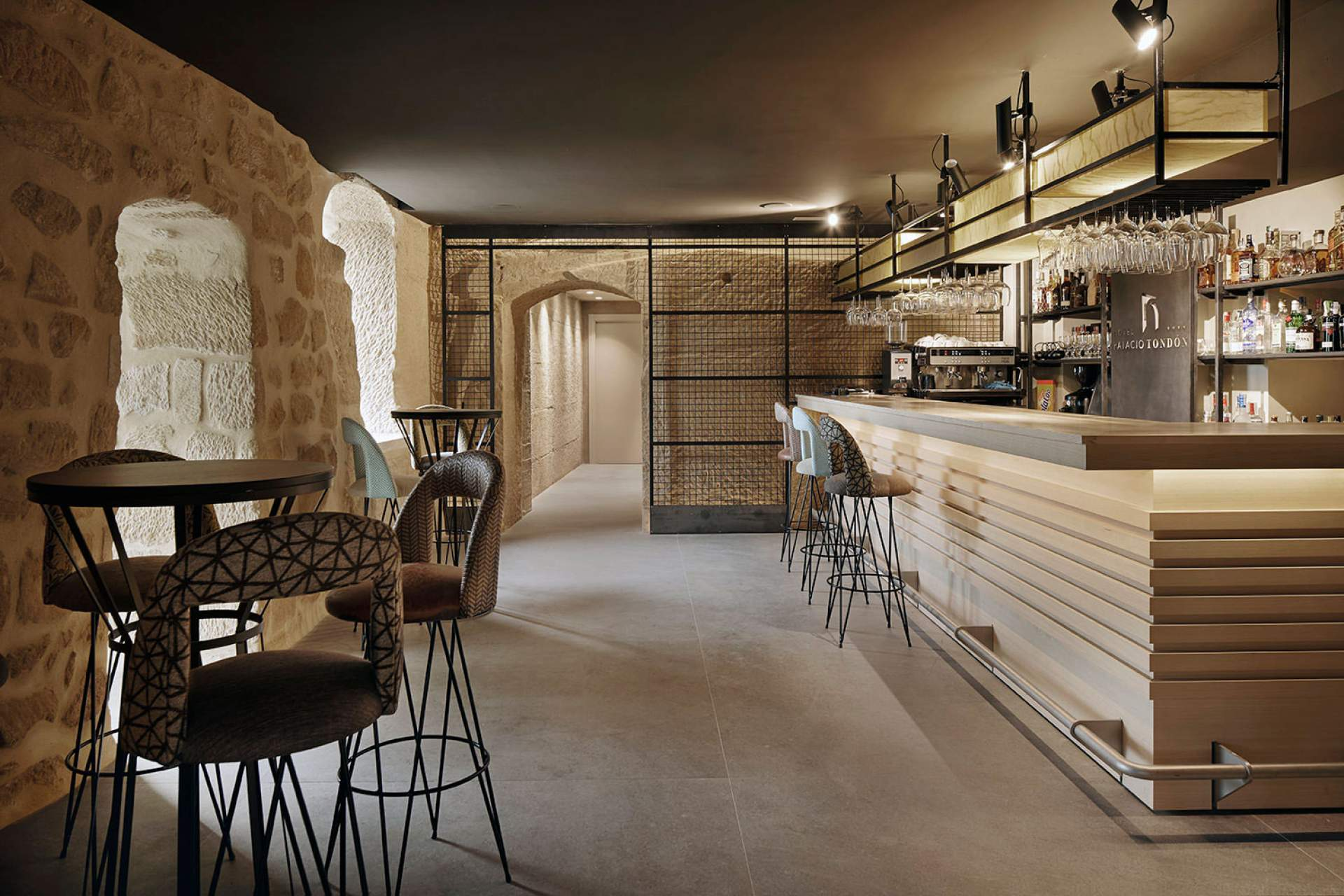 Evoke Bar setting with Moka Tile