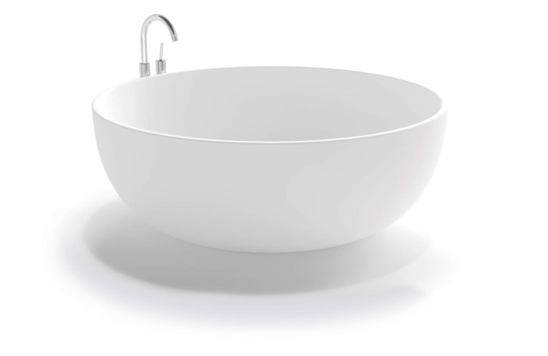 Iseo Free Standing Bathtub in Glacier White